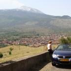 dorp Randazzo met Etna